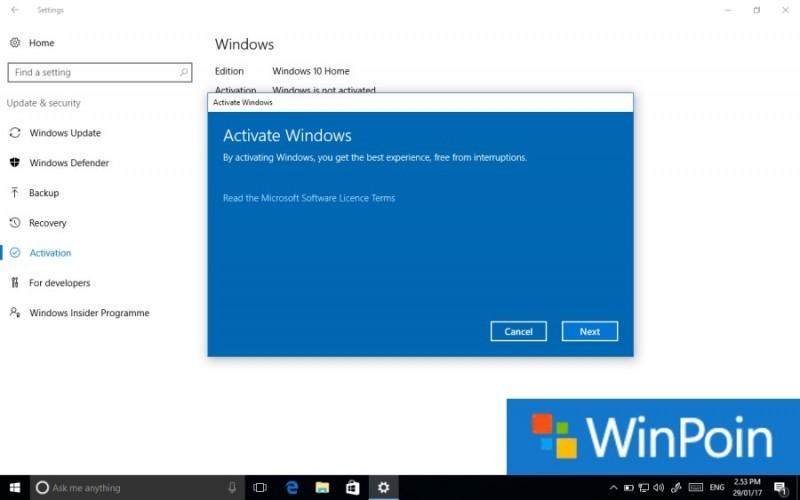 Tutorial Cara Aktivasi Windows 10 dengan Mudah