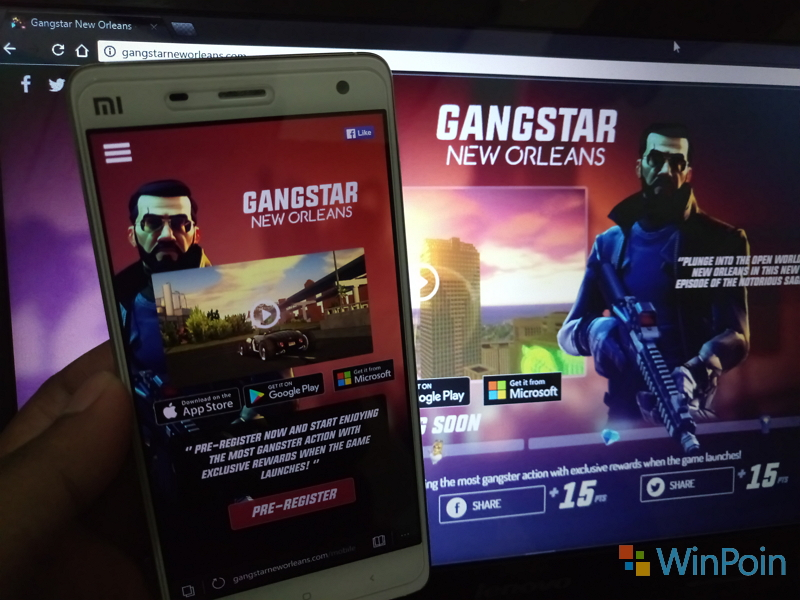 Gangstar New Orleans Segera Hadir di Windows Store