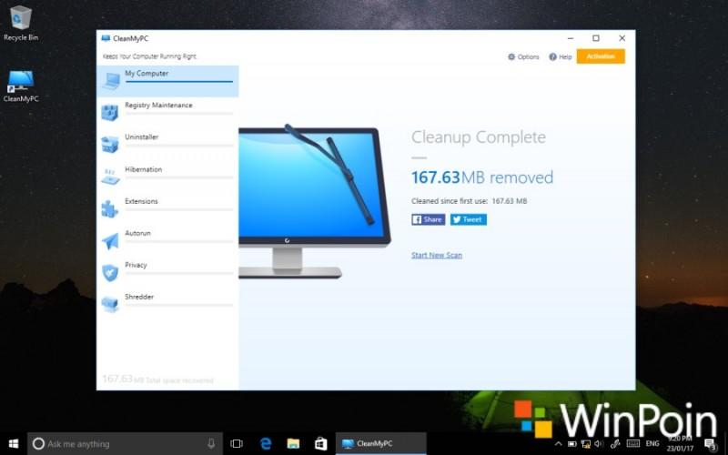 Cara Membersihkan File Sampah Windows dengan CleanMyPC