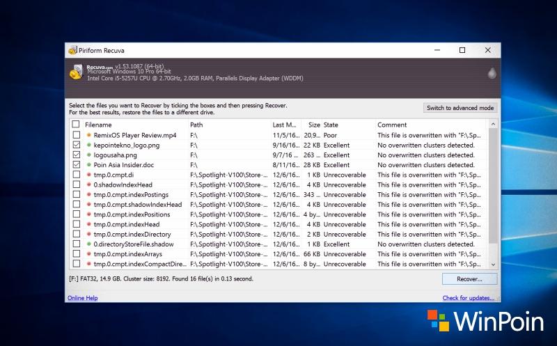 Cara Mengembalikan File yang Terhapus / Hilang di Flashdisk