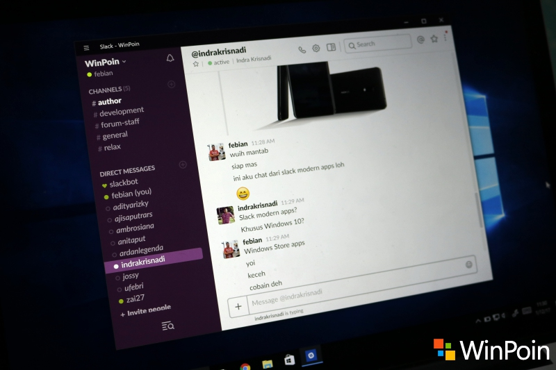 Slack Merilis Aplikasi Desktop di Windows Store