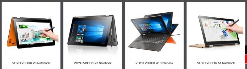 Beragam Laptop Convertible VOYO ala Lenovo Yoga Sedang Dijual Murah