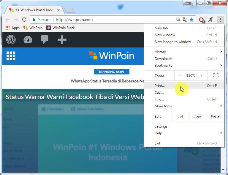 Cara Membuat File PDF Langsung dari Google Chrome (2)