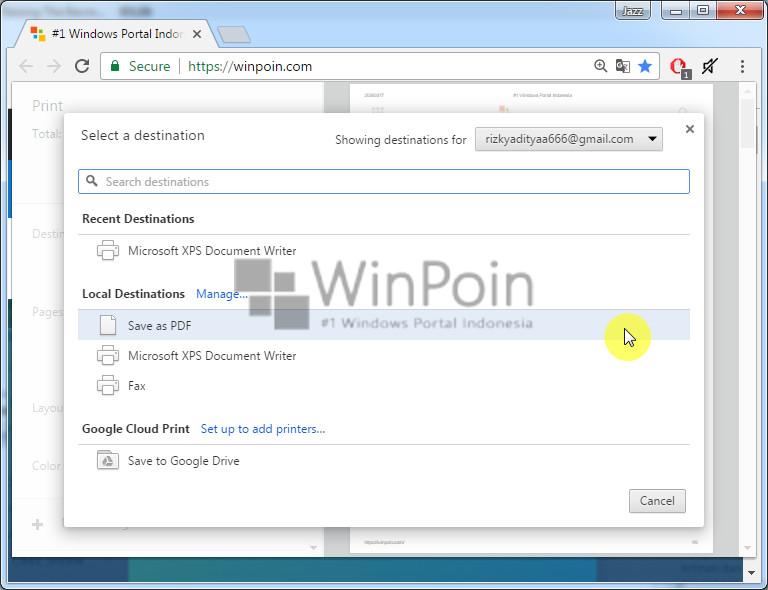 Cara Membuat File PDF Langsung dari Google Chrome (4)