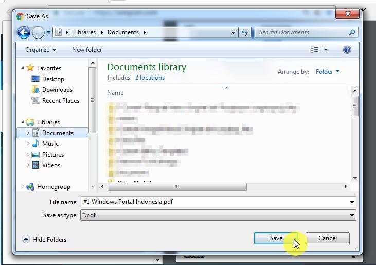Cara Membuat File PDF Langsung dari Google Chrome (6)