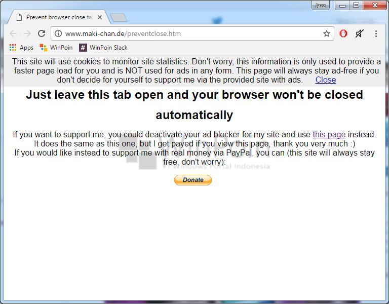 Cara Membuat Konfirmasi Sebelum Keluar Google Chrome (2)