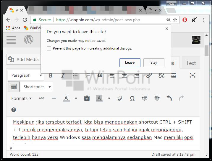 Cara Membuat Konfirmasi Sebelum Keluar Google Chrome (3)