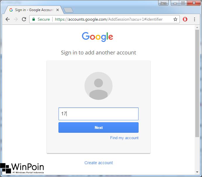 Cara Menjalankan Google Chrome dengan User yang Berbeda (1)