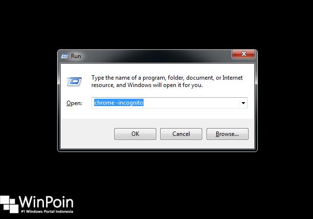 Cara Menjalankan Incognito Mode dengan Cepat di Google Chrome (1)