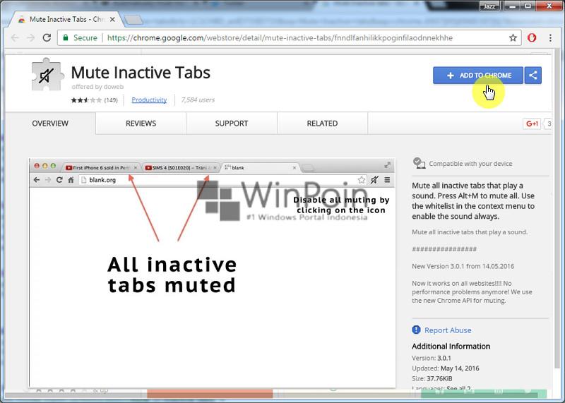 Cara Mute Tab Tidak Aktif di Google Chrome Secara Otomatis (4)