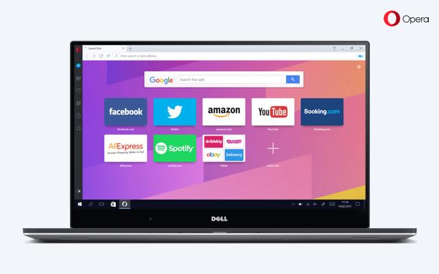 Opera New UI