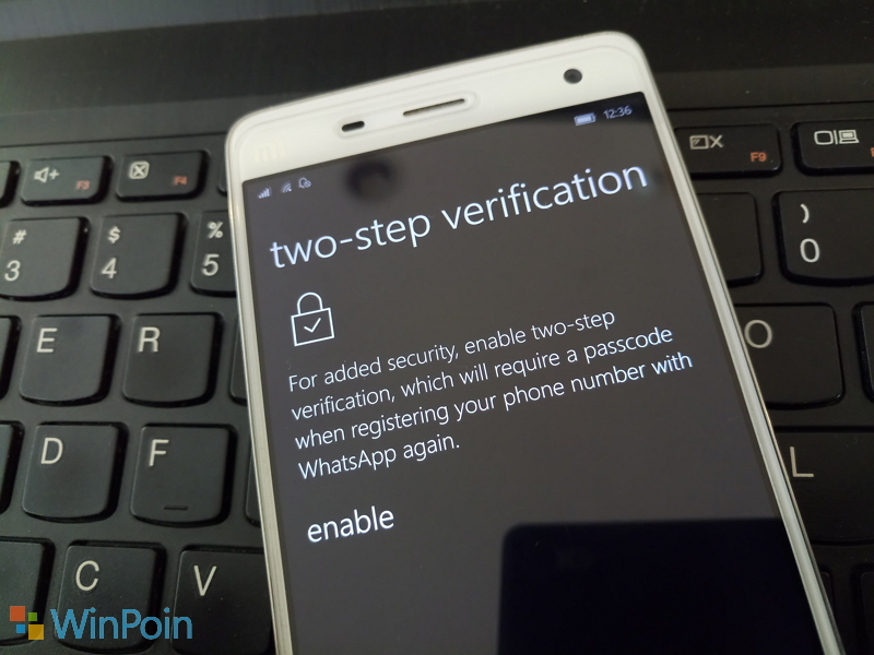 Apa itu Two-step Verification di WhatsApp?