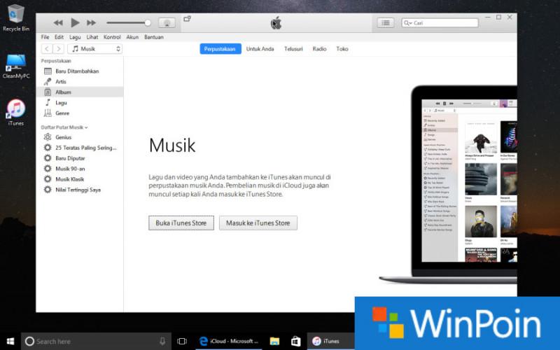 Cara Install iTunes di PC dan Laptop Windows 10