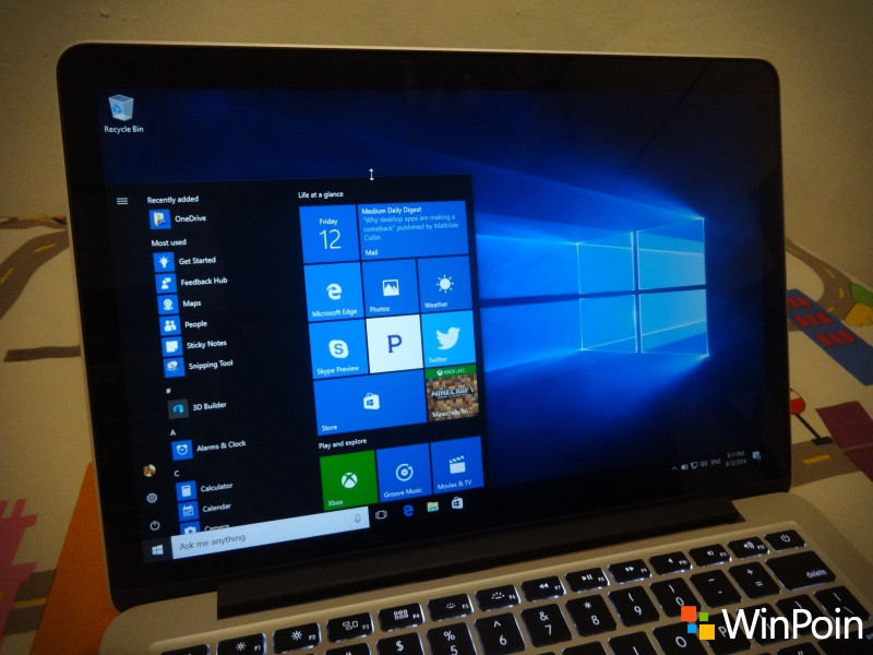 Microsoft Merilis Windows 10 Build 15042 ke Fast Ring PC