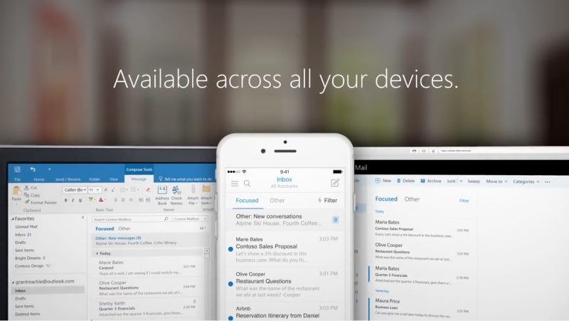 """Mengenal Fitur """"Focused Inbox"""" yang Segera Hadir ke Windows 10 PC & Mobile"""