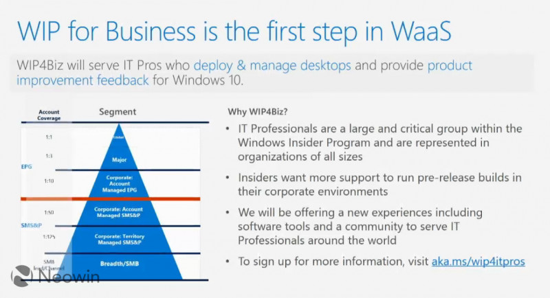 Microsoft Membuka Program Windows Insider untuk IT Profesional