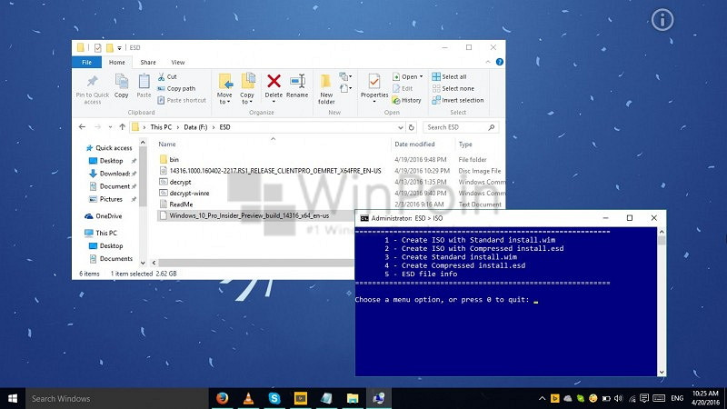 Cara Membuat ISO Windows 10 Creators Update (Final) dengan File ESD (1)