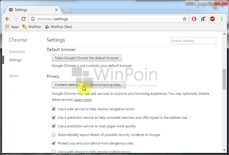 Cara Mengatur Notifikasi Web pada Google Chrome (2)