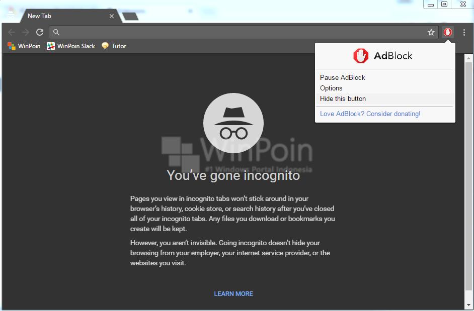 Cara Menggunakan Ekstensi Chrome pada Incognito Mode (4)