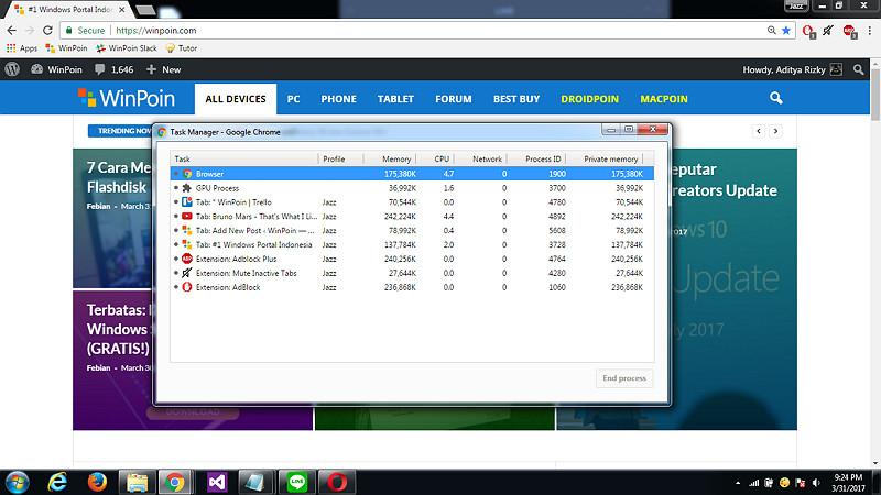 Cara Menggunakan Fitur Task Manager Google Chrome (1)