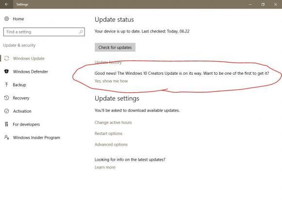 Perilisan Windows 10 Creators Update Semakin Dekat!