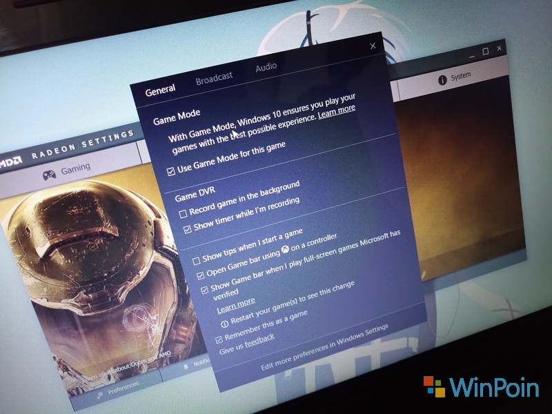 Apa itu Game Mode di Windows 10 Creators Update