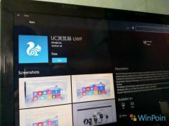 UC Browser UWP Sudah Tersedia di Windows Store