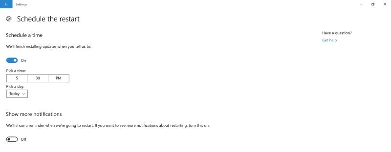 Pengaturan Install Update akan Tersedia di Windows 10 Creators Update