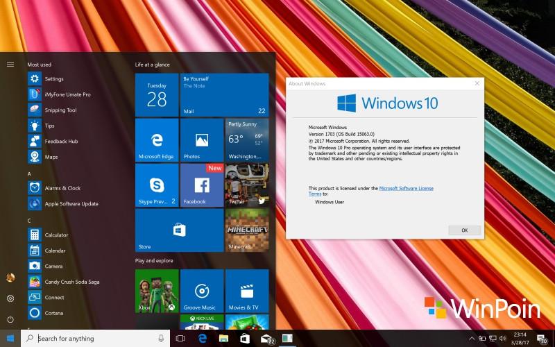 Nah kini kamu sudah bisa melakukan eksplorasi untuk menggunakan secara langsung setiap fitur yang ada di Windows 10 Creators Update.