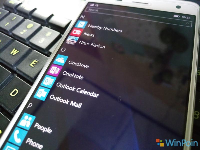 Cara Mengirim File (Foto, Video, Dokumen dan lain-lain) dari OneDrive (Windows 10 Mobile)