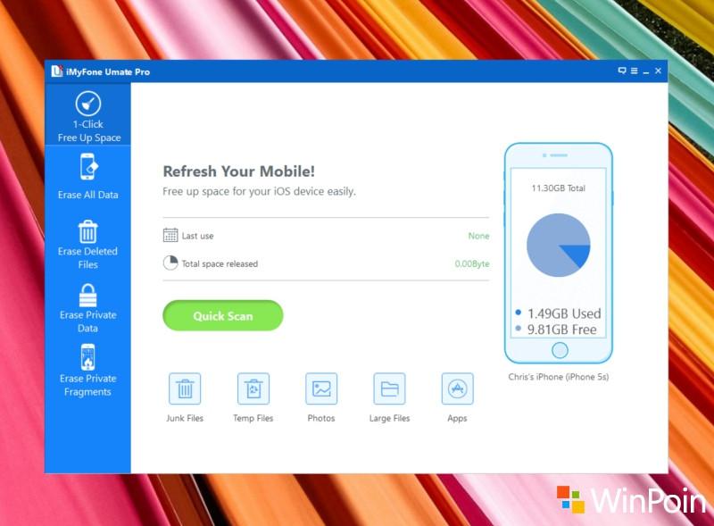 Membersihkan Data iPhone Secara Permanen Melalui Windows dengan iMyFone Umate Pro
