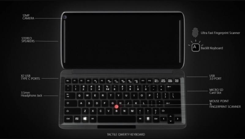 Inilah KS-PRO: Ultra Mobile PC Berbasis Windows 10 ARM + Snapdragon