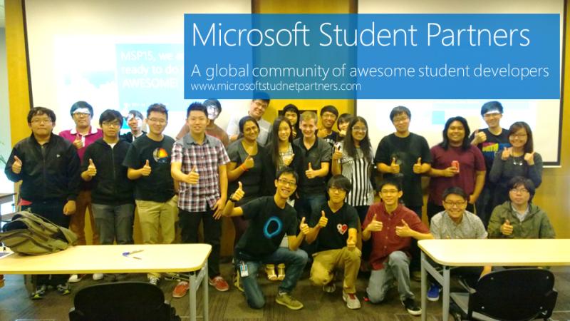Buruan! Pendaftaran Microsoft Student Partner 2017 Sudah Dibuka