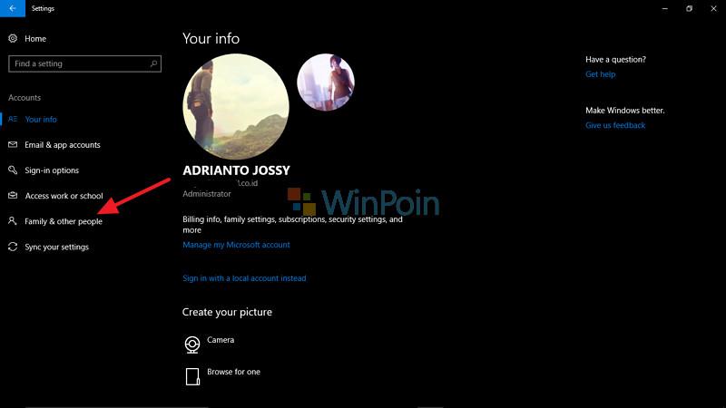 Cara Menambahkan Akun Administrator Baru di Windows 10