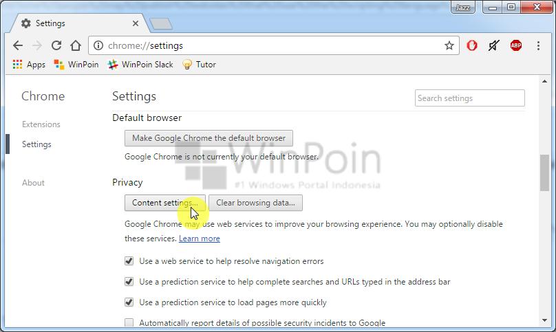 Cara Mematikan Fitur JavaScript pada Google Chrome (1)