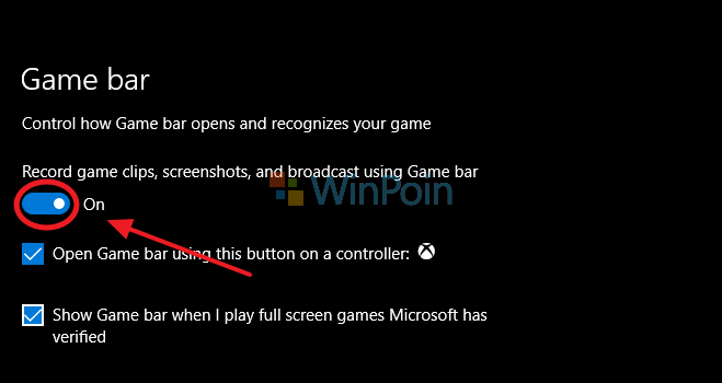 Cara Menonaktifkan Game Bar di Windows 10