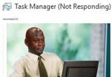 Menghentikan Program Not Responding