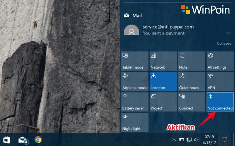 Cara Mengaktifkan Bluetooth di Laptop Windows