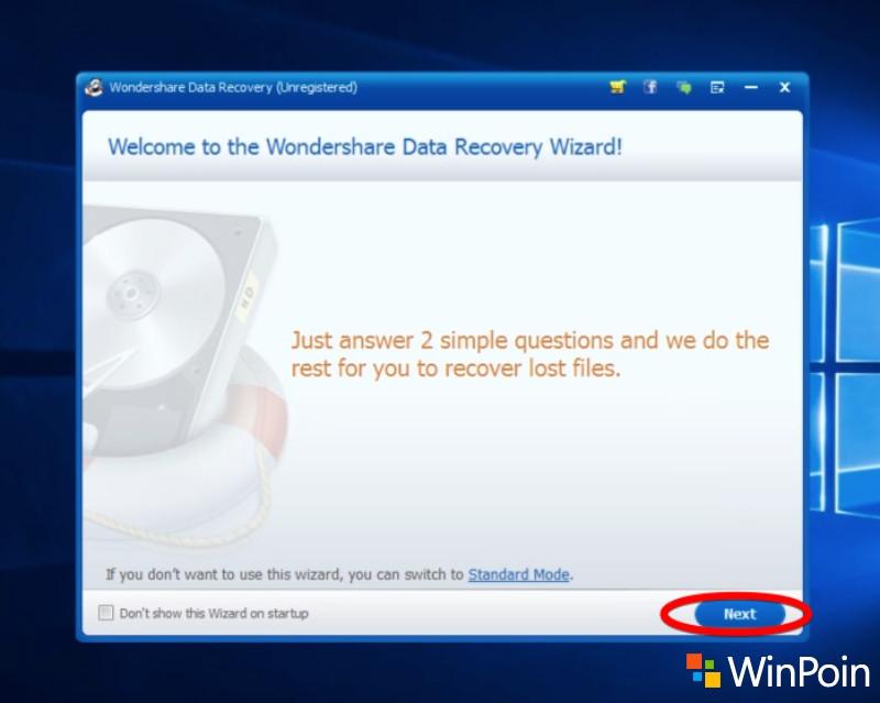 Cara Mengembalikan Data di Flash Drive dengan Wondershare Data Recovery