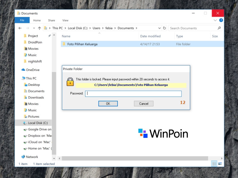 Cara Mengunci Folder di Laptop / Komputer
