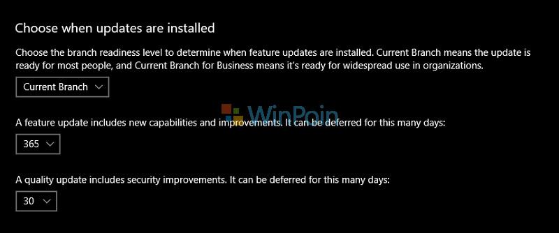 Berapa Lama Saya Dapat Menunda Update Windows 10?