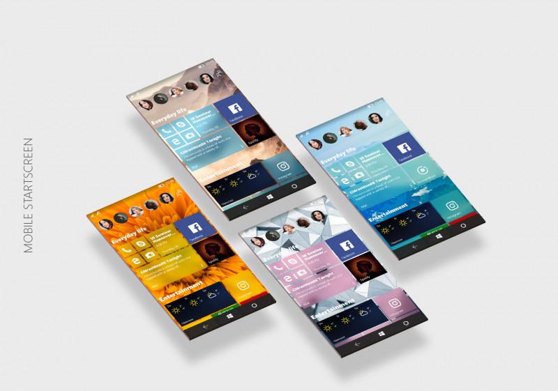Desain Konsep Windows 10 Neon Ini Terlihat Keren
