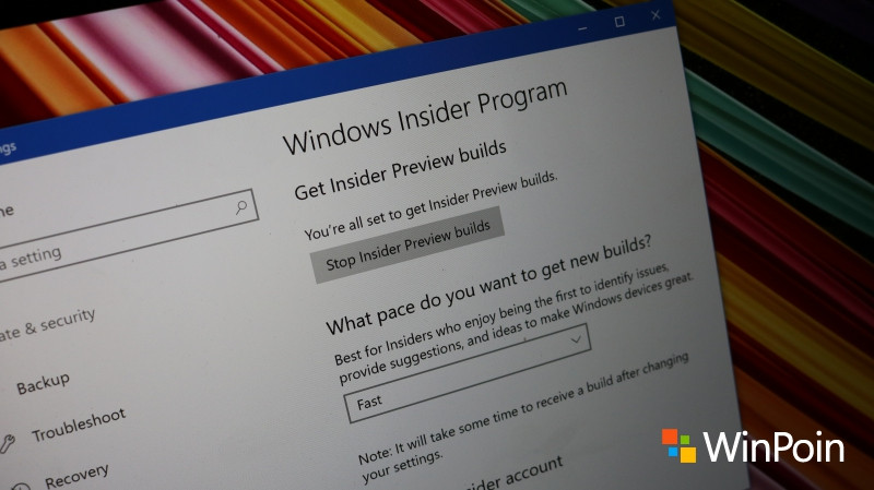 Cara Gabung Jadi Insider di Windows 10 Creators Update