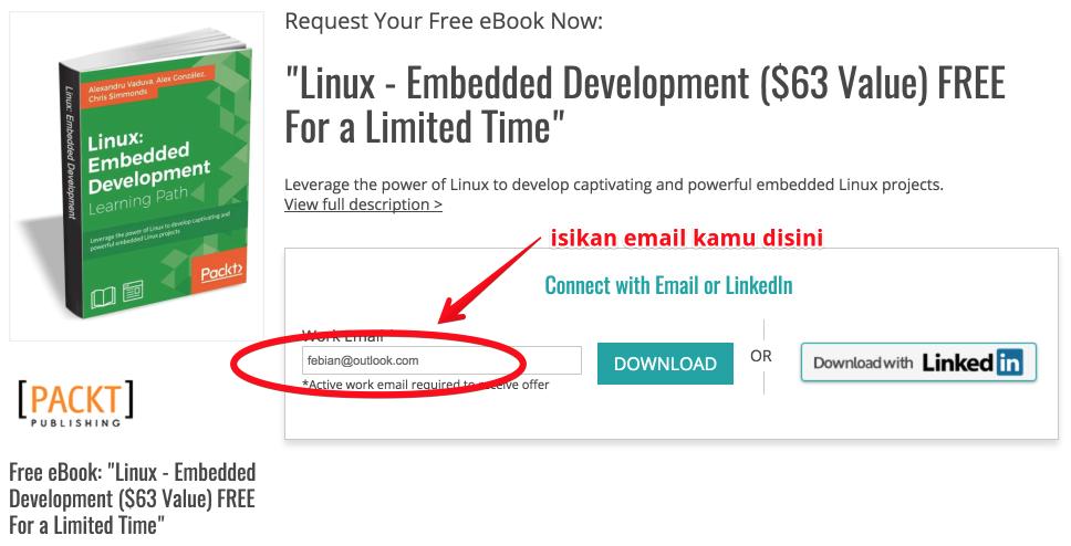 Terbatas: Download Panduan Linux Seharga 835 Ribu, GRATIS!