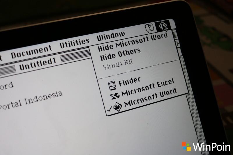 Nyobain Microsoft Office Lawas dan MacOS Jadul Langsung dari Browser Yuk!