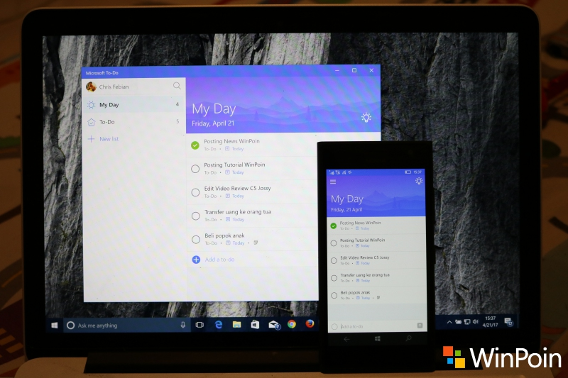 Perkenalkan Microsoft To-Do: Aplikasi To-Do List Baru Pengganti Wunderlist