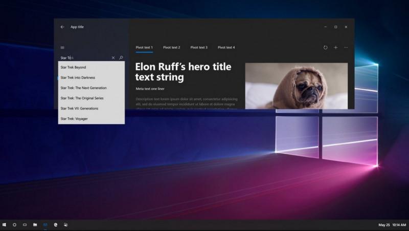 Inilah Konsep Awal Project NEON: Tampilan Baru Windows 10 Selanjutnya