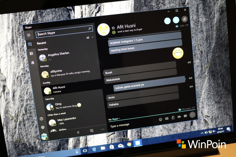 Skype Windows 10 Sudah Bukan Preview Lagi