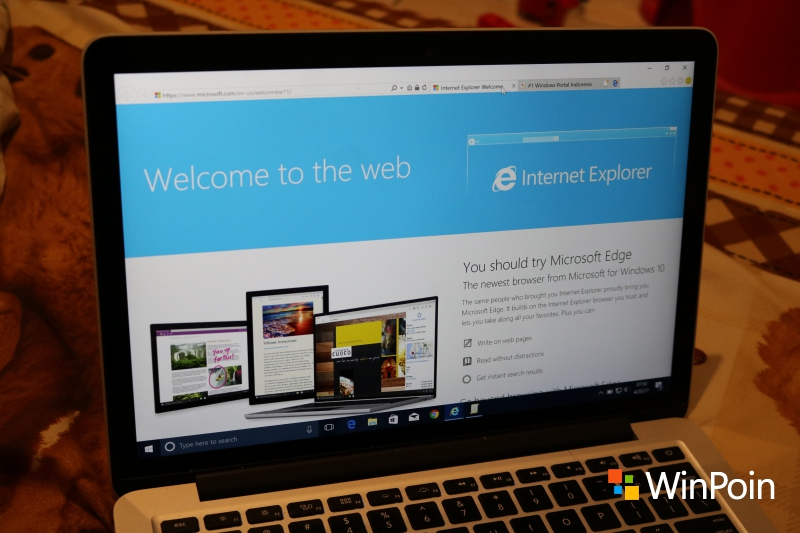 Ada Tab Edge di dalam Internet Explorer (dan Bagaimana Menghilangkannya)