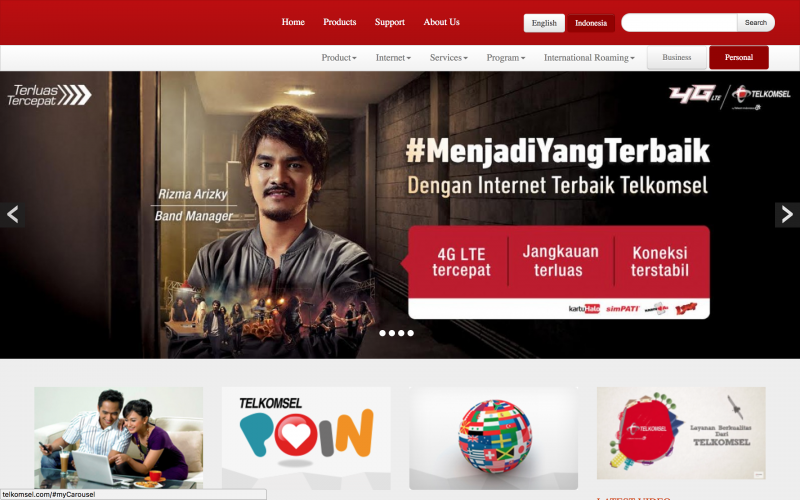 Situs Telkomsel Online Lagi Setelah Dihack, Tetapi Masih Bermasalah